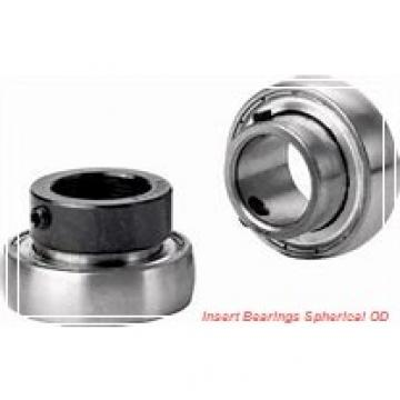 SEALMASTER 3-17D  Insert Bearings Spherical OD