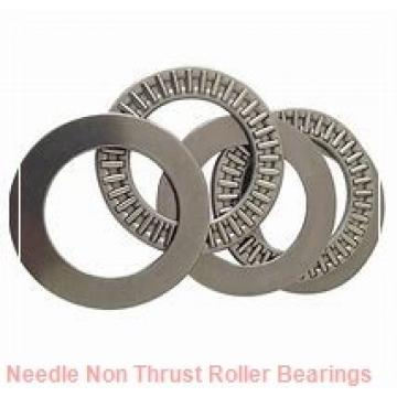 1.496 Inch   38 Millimeter x 1.89 Inch   48 Millimeter x 1.181 Inch   30 Millimeter  CONSOLIDATED BEARING NK-38/30 P/5  Needle Non Thrust Roller Bearings