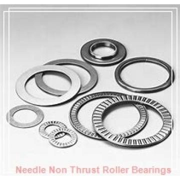 0.669 Inch | 17 Millimeter x 0.984 Inch | 25 Millimeter x 0.512 Inch | 13 Millimeter  CONSOLIDATED BEARING RNAO-17 X 25 X 13  Needle Non Thrust Roller Bearings